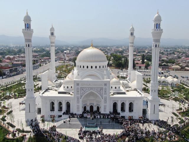 Уникальная архитектура мечетей Чечни