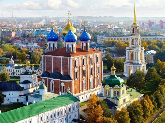 Три древние крепости: Коломна, Зарайск, Рязань