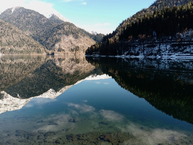 Из тропиков к снегу! Абхазия за один день