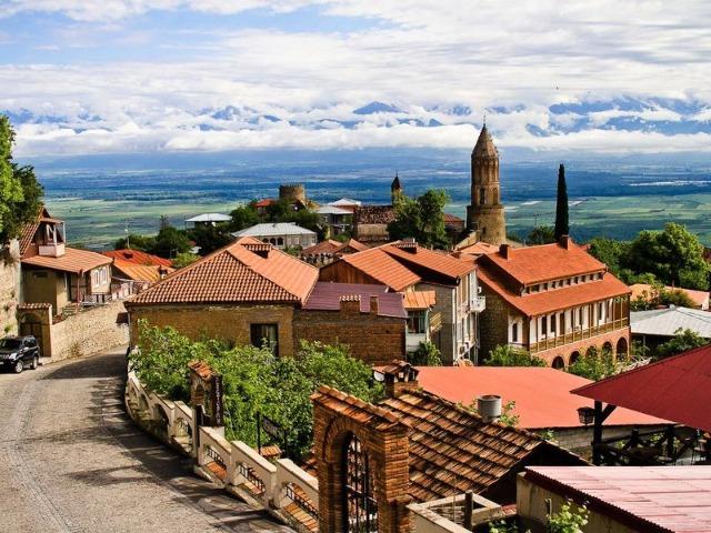 Из Тбилиси в Кахетию