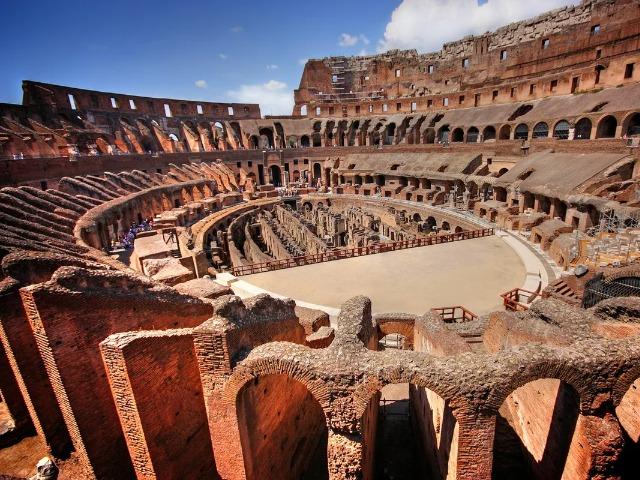 Колизей — арена гладиаторов, зрелищ и страстей