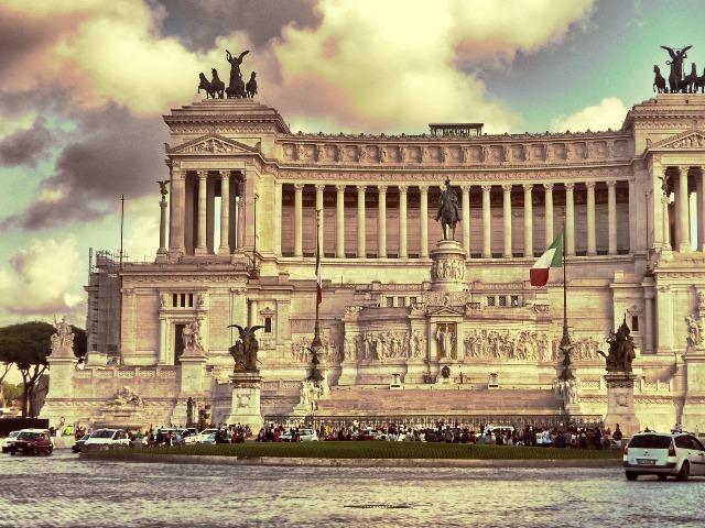 По красотам Рима - на автомобиле!