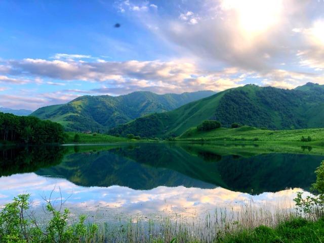 Галанчожское озеро - высокогорный алмаз Чечни