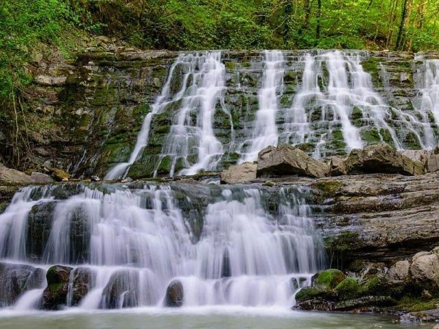 Сочинская экзотика: 33 водопада и долина адыгов