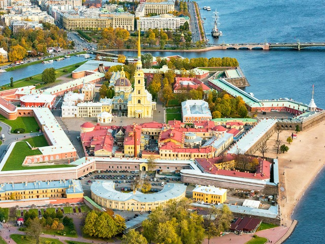 Сказ про то, как царь Петр Петербург строил