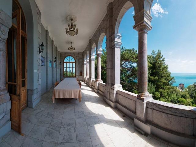 Шедевры архитектуры Южного берега Крыма вас ждут!