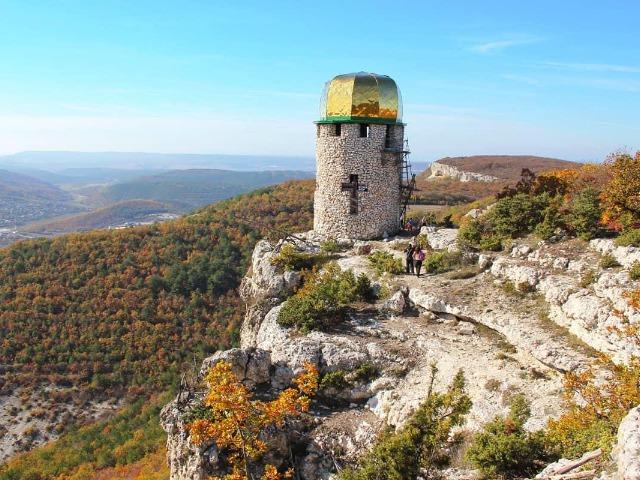 Челтер-Мармара и Шулдан - пещерные обители Крыма