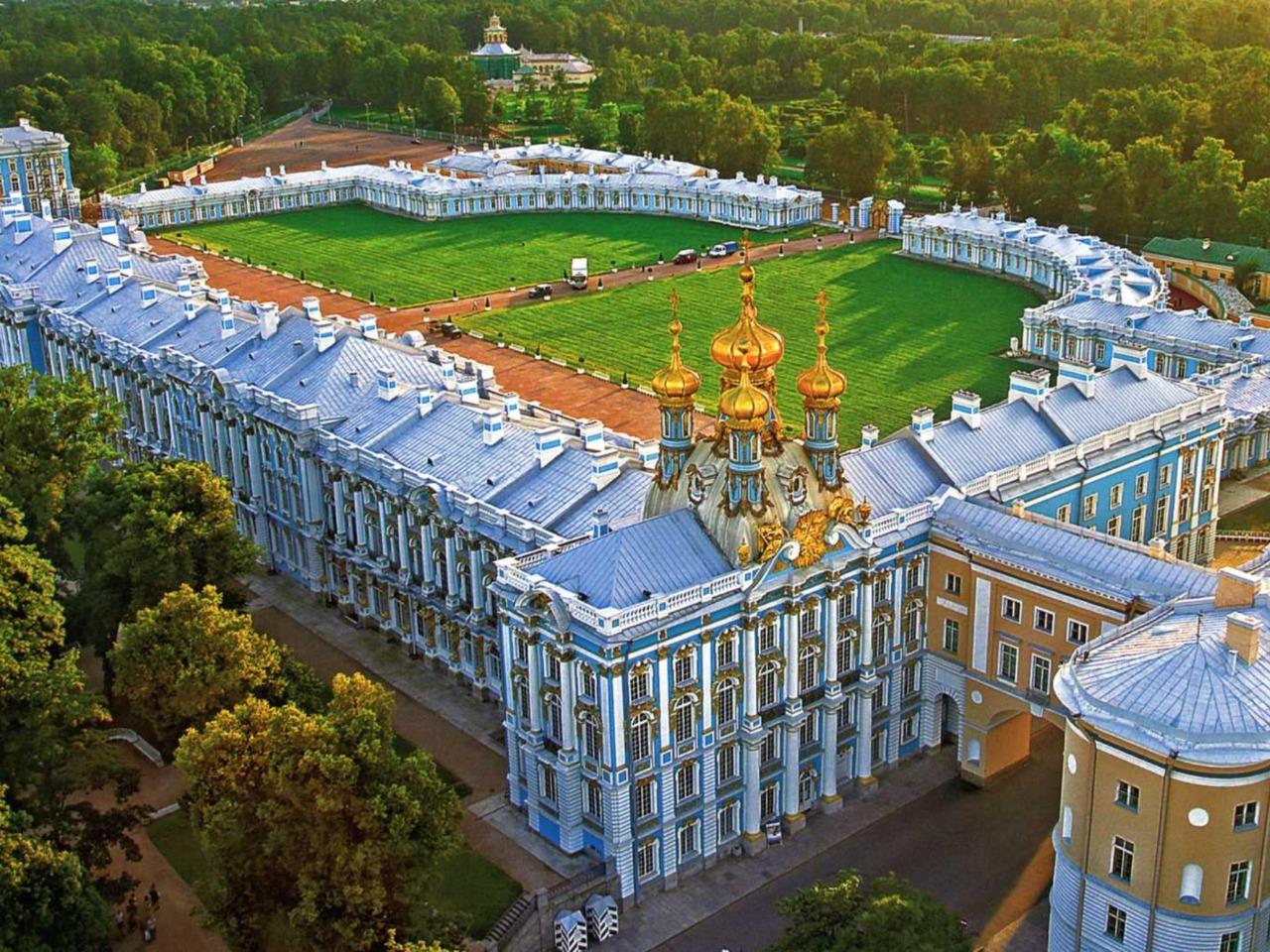 Царское село - прелестный пригород Петербурга - групповая экскурсия по Санкт-Петербургу от опытного гида