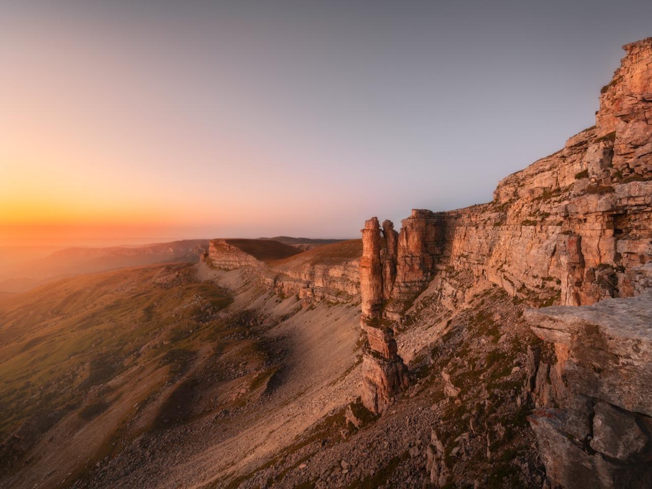 Закат на удивительном плато Бермамыт - индивидуальная экскурсия в Пятигорске от опытного гида