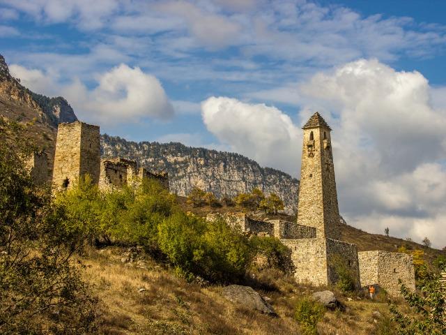 Горная Ингушетия - башенные комплексы и мифы
