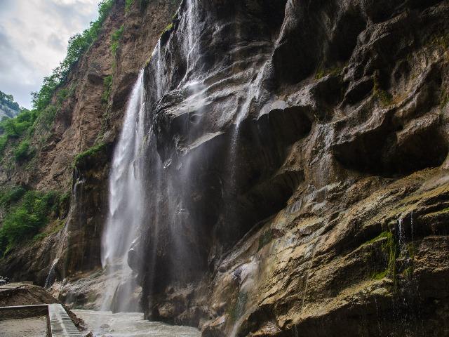 Удивительная природа Кавказа: Чегемские водопады