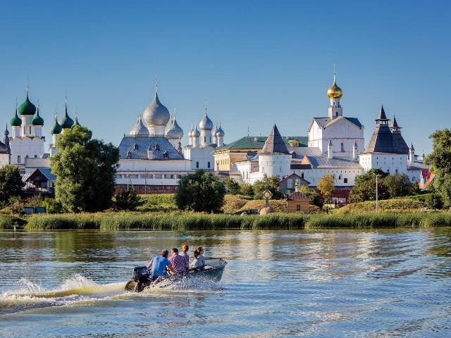 Едем в Ростов Великий из Ярославля
