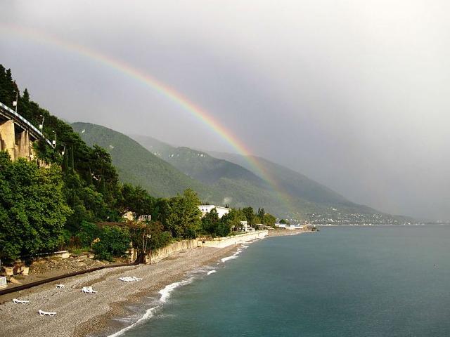 У природы нет плохой погоды: Абхазия в дождь