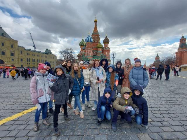 Красная площадь и Александровский сад для детей
