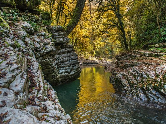 Исследуем каньон реки Псахо