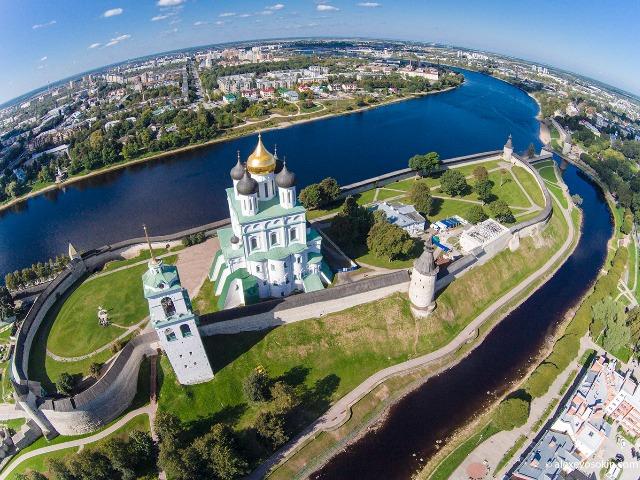 Ольгин град на реке Великой — средневековый Псков