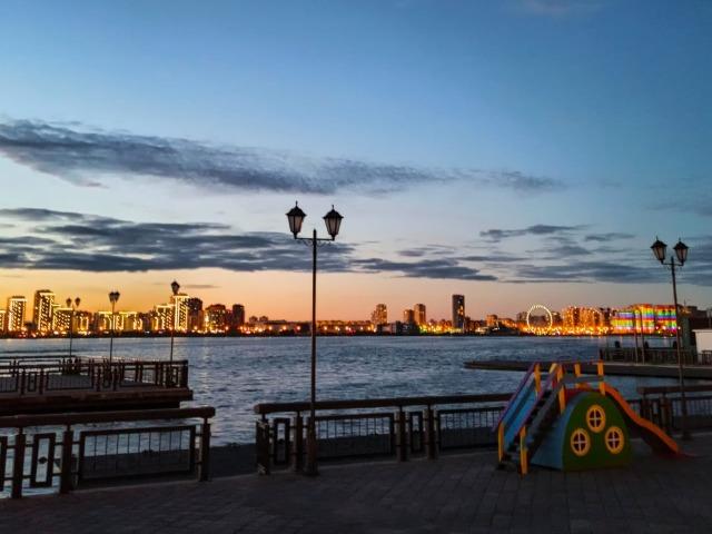 Атмосферная прогулка по вечерней Казани