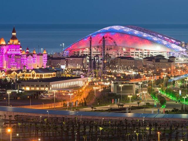 Олимпийский парк Сочи — яркое наследие Игр-2014