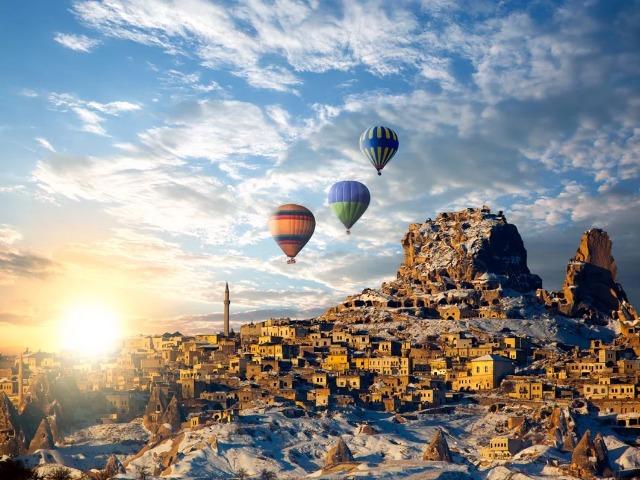 Незабываемый полёт на шаре над чудо-ландшафтами