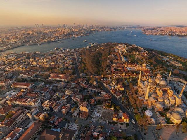 Обзорный тур по Стамбулу на вертолете