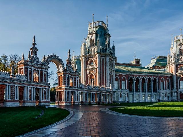 Роскошное Царицыно: в гости к императрице