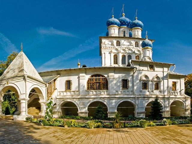 Царская резиденция Коломенское