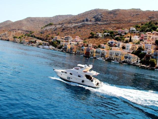Вояж на люксовой яхте вокруг острова Сими