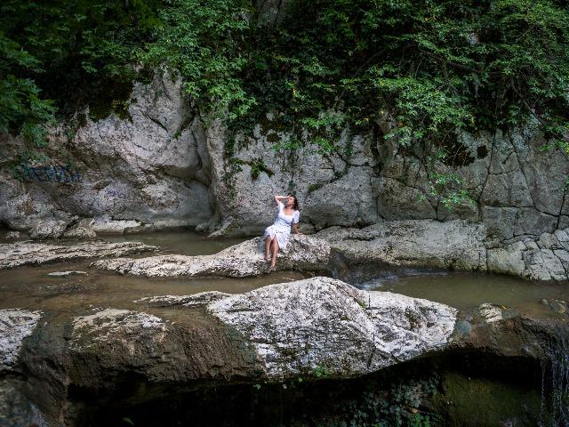 Утренний поход на Агурские водопады