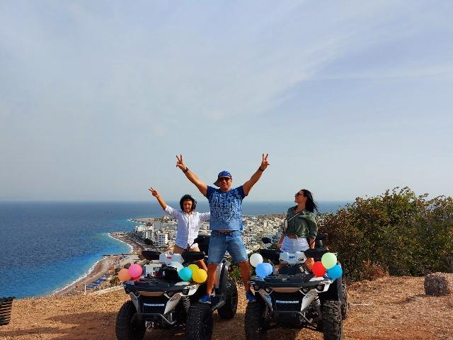 Родос: селфи-тур на квадроциклах