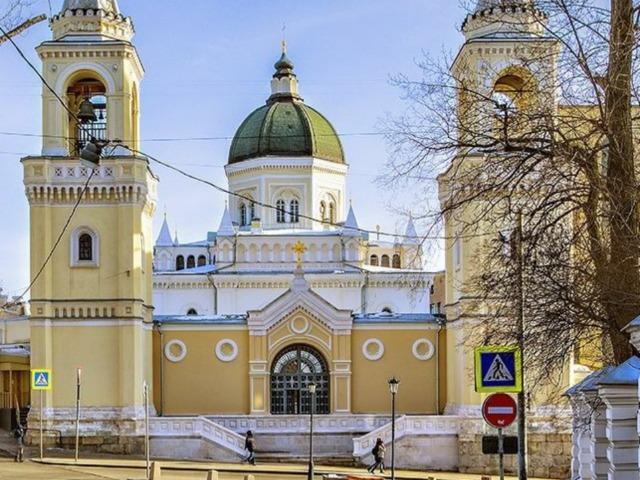 Москва белокаменная: Ивановская горка