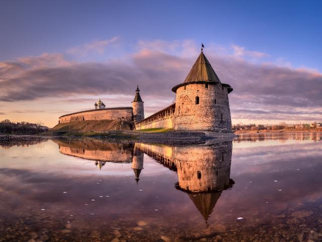 Жили-были на Псковской земле 3 крепости…