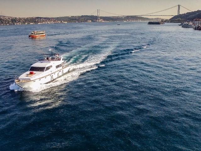 Босфор-тур на яхте с фуршетом