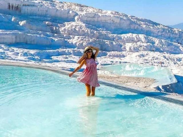 Памуккале — 8-е чудо света+Иераполис+озеро Салда