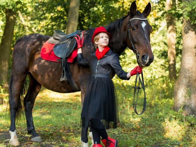 Фотосессия с лошадьми в Калининграде