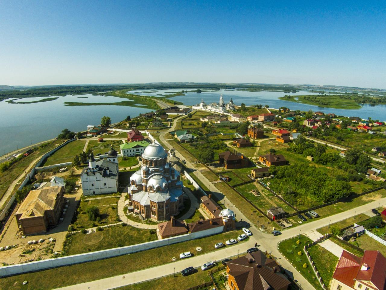 Сказочный остров-град Свияжск + Иннополис - индивидуальная экскурсия в Казани от опытного гида