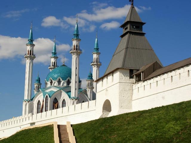Казанский кремль: Белая крепость во всей красе