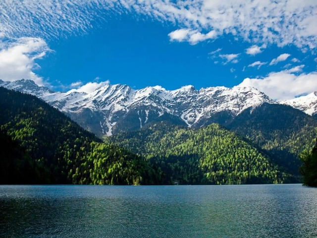 На озеро Рица из Гагры, Пицунды и окрестностей